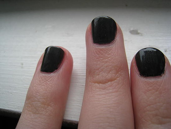 Photos: Chanel Black Satin Polish (w/ review)