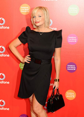 Emma Bunton Likes Her Pizza and Eats It, Too