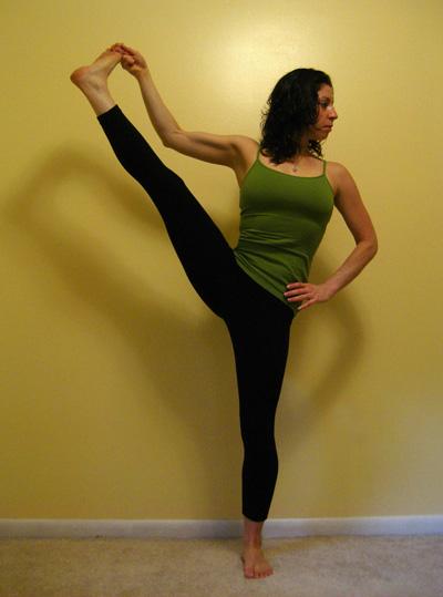 Strike a Yoga Pose: Standing Hand to Big Toe B
