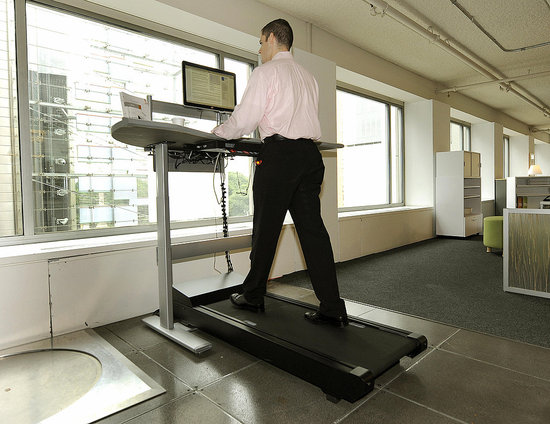 Would You Use This Treadmill Workstation?