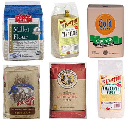 Whole Grain Flour Breakdown