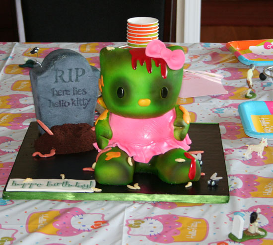 Note to Friends: I Want This Cake on My Birthday!