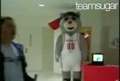 Houston Rockets Bear Gets His