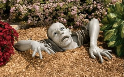 Product of the Day: Zombie Lawn Sculpture