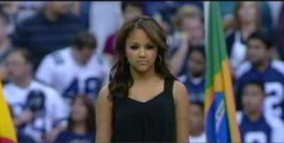 Kat Deluna's National Anthem Performance