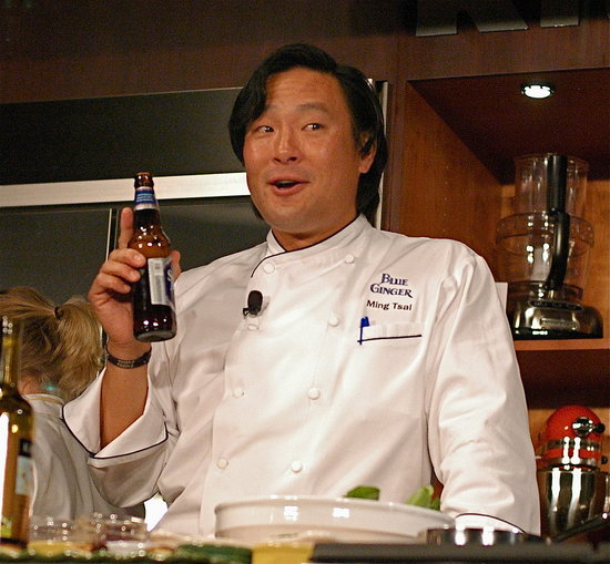 Ming Tsai Entertains the Crowds at the Food and Wine Classic in Aspen 2008