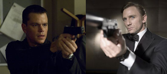 Who's Your Favorite: James Bond or Jason Bourne?