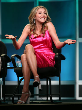 Sarah Chalke on Britney, the Bahamas, and Braff in a Speedo