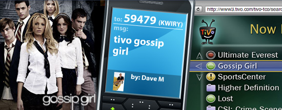 Kwiry Adds More Features, Including a TiVo Texting Shortcut