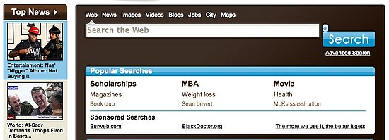 Search Engine Rushmore Drive Is Aimed Toward African Americans