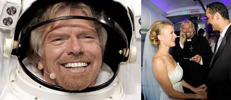Branson to Marry Couple High in the Sky