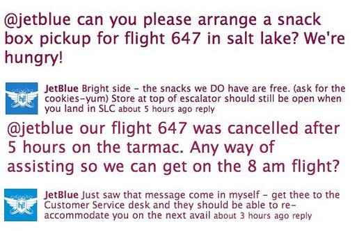 JetBlue Flight 647 Customers Twitter Flight Experience