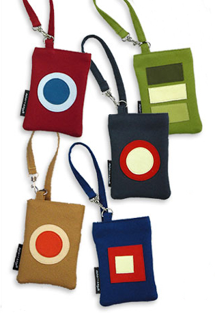 Retro Geek: Angie Cell Phone and iPod Bags by Aster+Sage