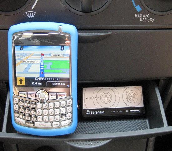 Test Drivin' TeleNav's GPS Navigator
