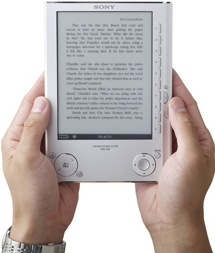 Daily Tech: Sony Makes the E-book Reader Open