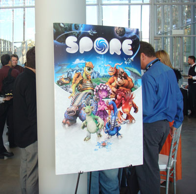 The Spore Launch Event