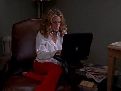 TV Characters and Laptop Abuse