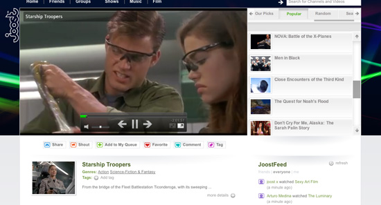 Daily Tech: Watch Videos Directly in Your Browser With Joost