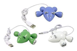 No Trap Necessary: Mouse USB Hub
