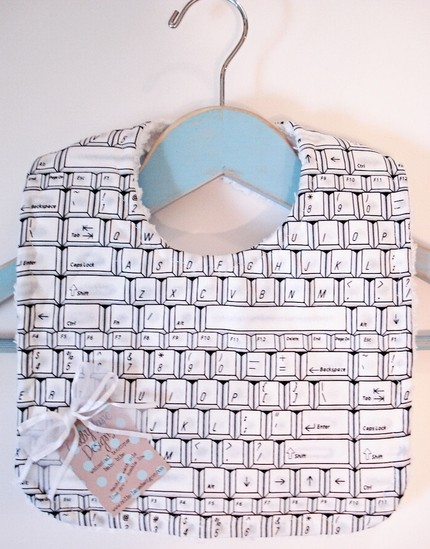 Geek Out Your Baby With a Genius Bib
