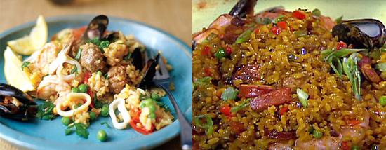 Paella Two Ways — Beginner and Expert