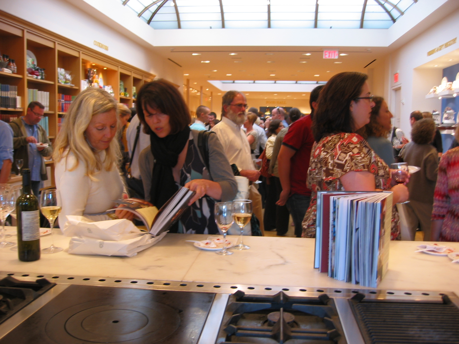 The launch party took place on the top floor of the William-Sonoma flagship store in San Francisco's Union Square.
