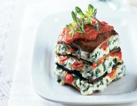 Monday's Leftovers: Portobello Mushroom Lasagna