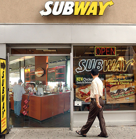 Subway, Meet Starbucks