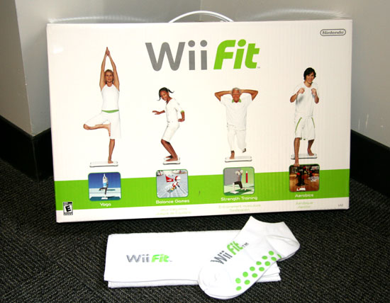 Wii Fit Hits Shelves Soon