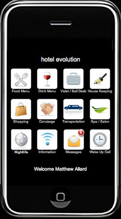 Malibu Beach Inn Issues iPod Touch to Guests