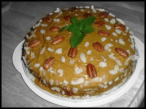 Paula Deen's Delicious Caramel Cake
