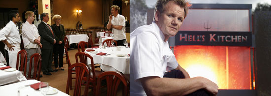 Would You Rather Watch Kitchen Nightmares or Hell's Kitchen?