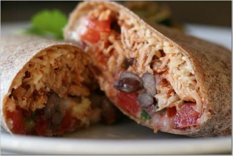 Yummy Link: Stuffed Burrito