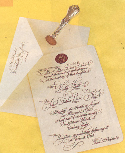 Handcrafted Invite