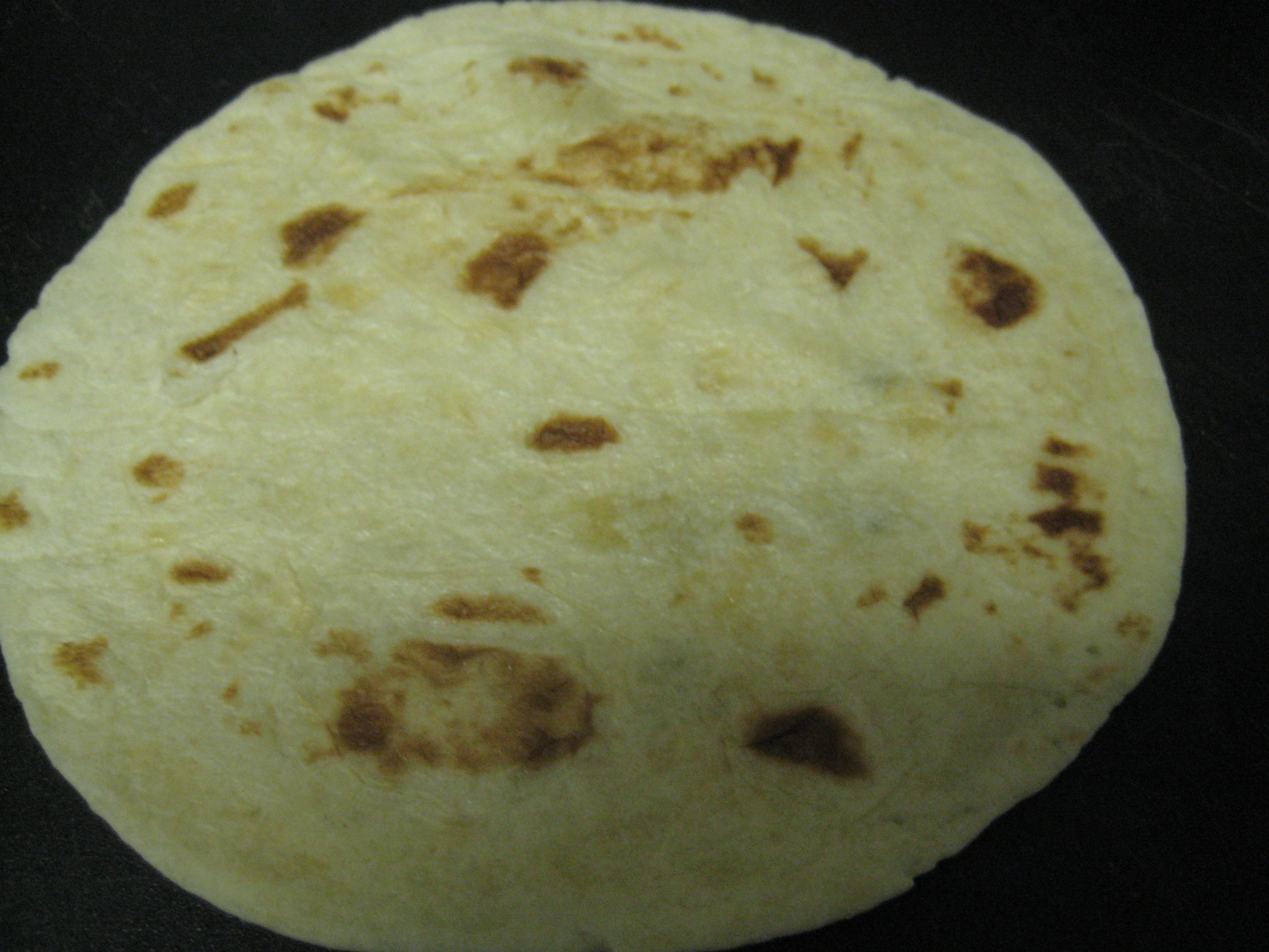 One tortilla!