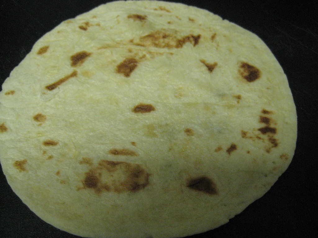 One tortilla!