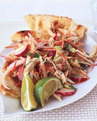 Monday's Leftovers: Chicken Salad with Cumin Carrot Raita