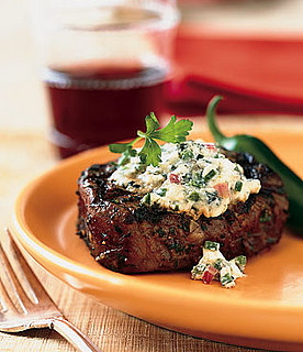 Sunday BBQ: Grilled Steaks with Blue Cheese and Chiles