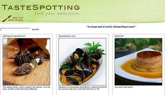 Yummy Link: Tastespotting is Back!
