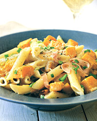 Fast & Easy Dinner: Penne With Butternut Squash