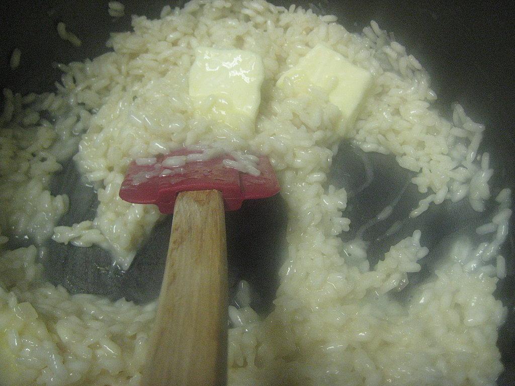 Parmesan Crab Risotto