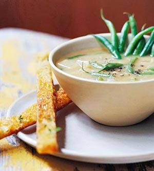 Fast & Easy Dinner: Green Bean Soup