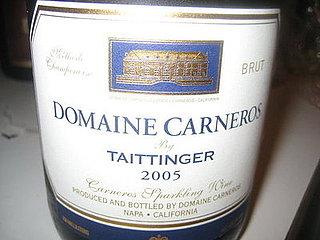 Happy Hour: Domaine Carneros  Brut 2005