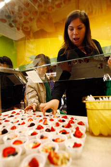 Healthy Eating Tip: Free Samples Aren't Free of Calories
