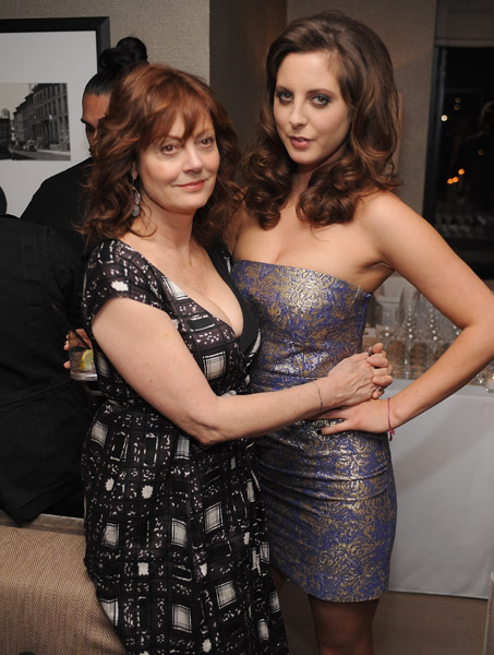 Susan Sarandon and daughter