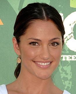 Minka Kelly at the 2008 Teen Choice Awards