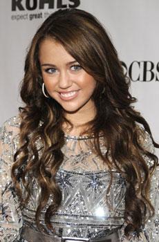 Miley Cyrus at Fashion Rocks: Hair and Makeup