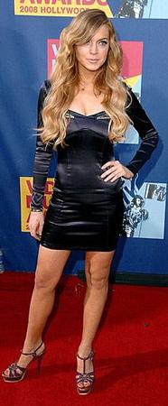 VMAs Style: Lindsay Lohan