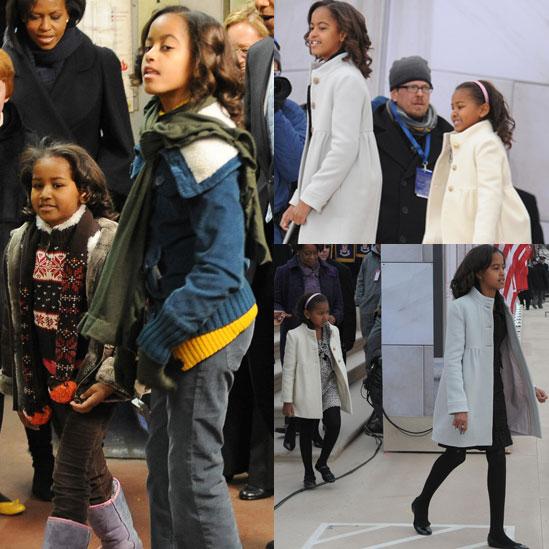 Obama Style: Malia and Sasha Dressed Up and Down