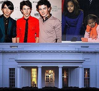 Malia and Sasha Obama Enjoy Private Jonas Brothers Concert!